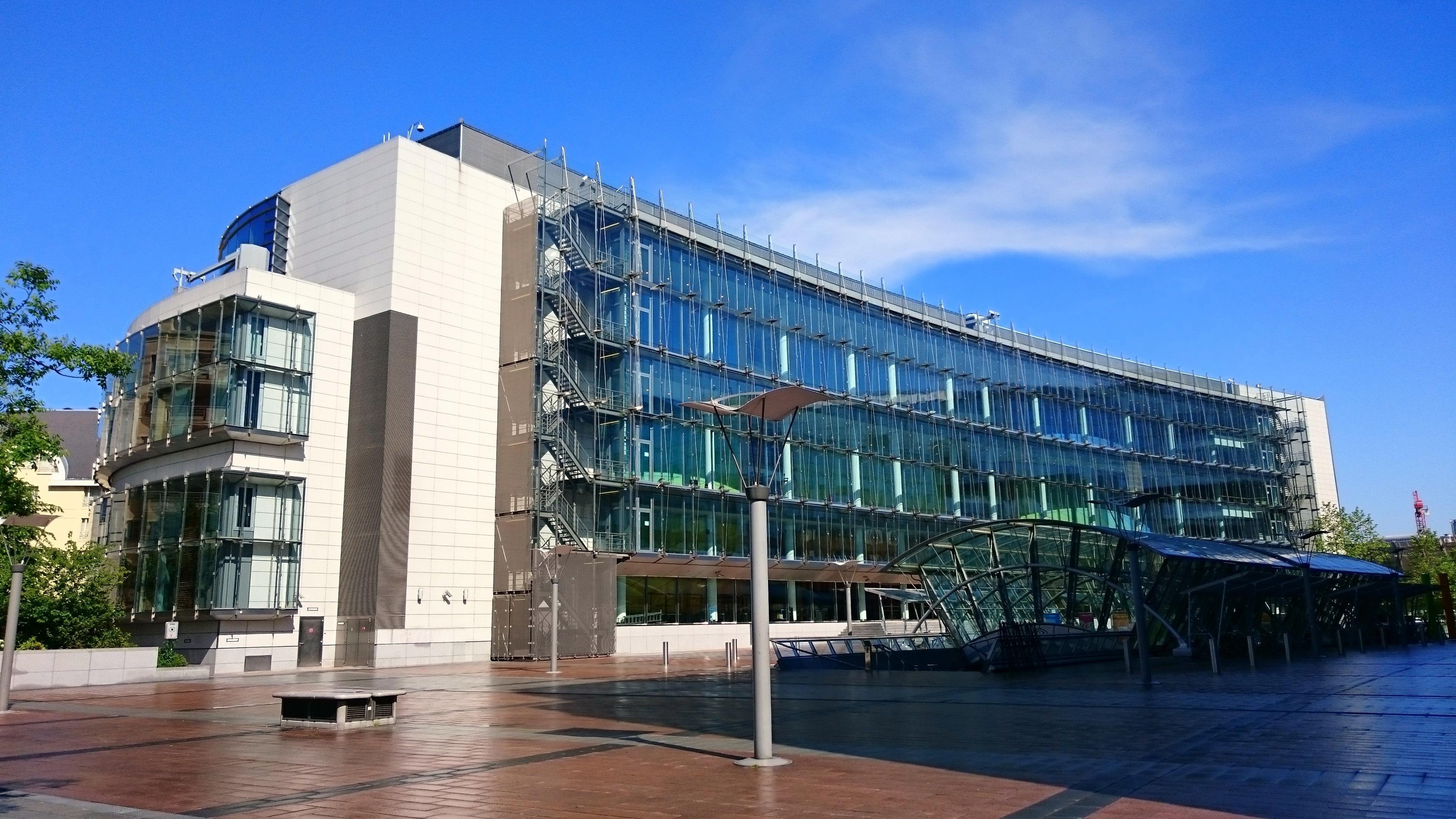 József Antall building Brussels EU