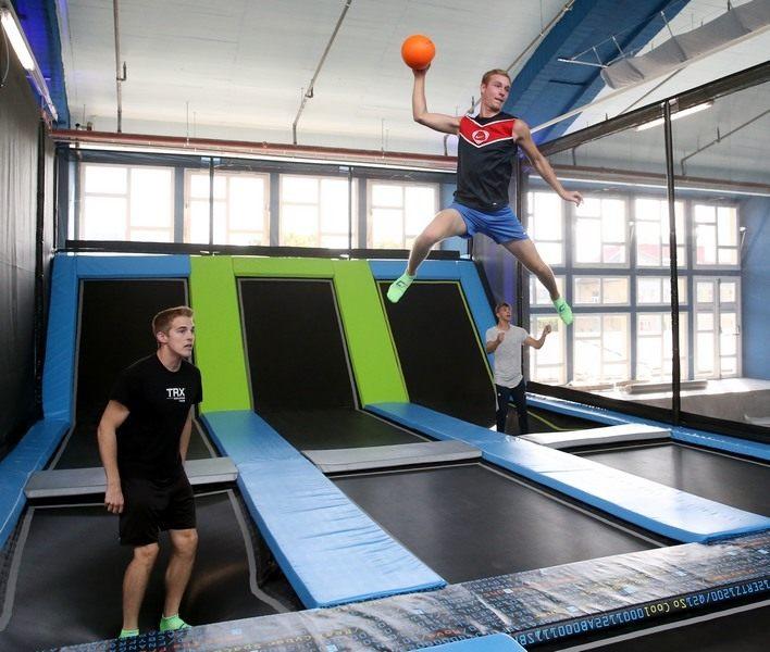 Dodgeball Cyberjump trampoline park