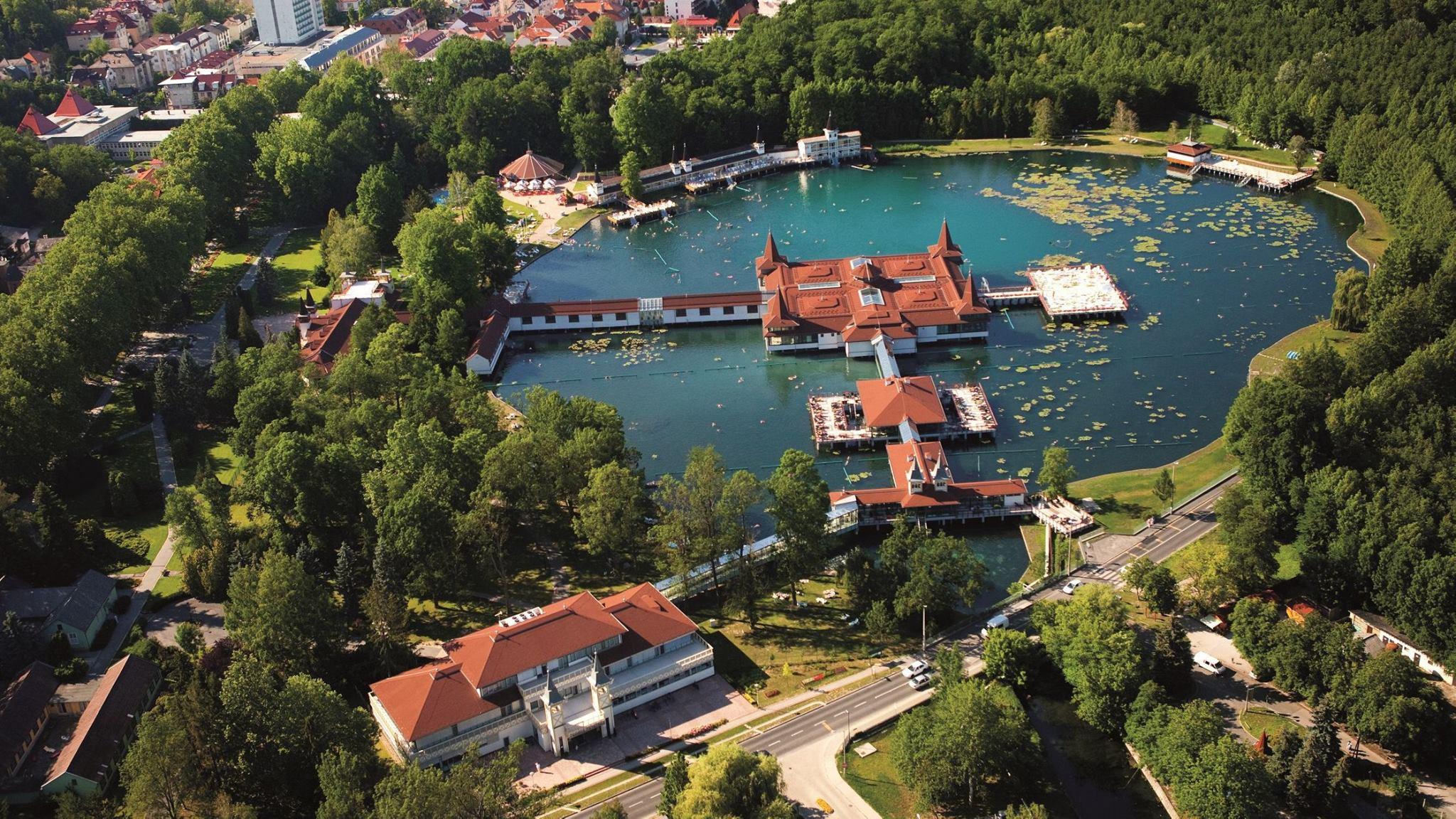 Hévíz, thermal bath, Hungary