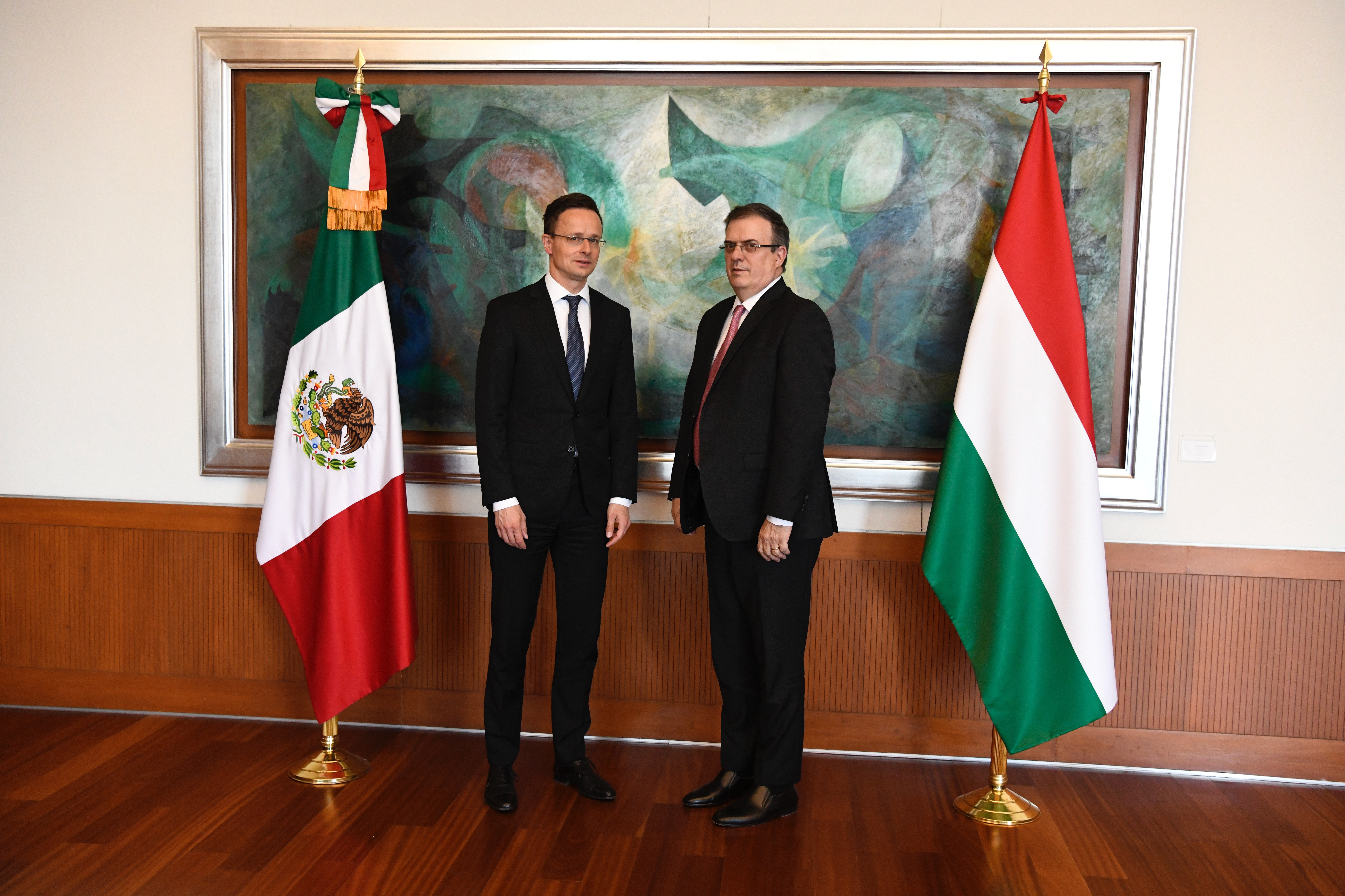 mexico hungary foreign ministers