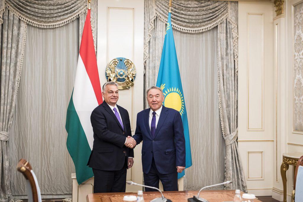 Nursultan Nazarbayev Orbán