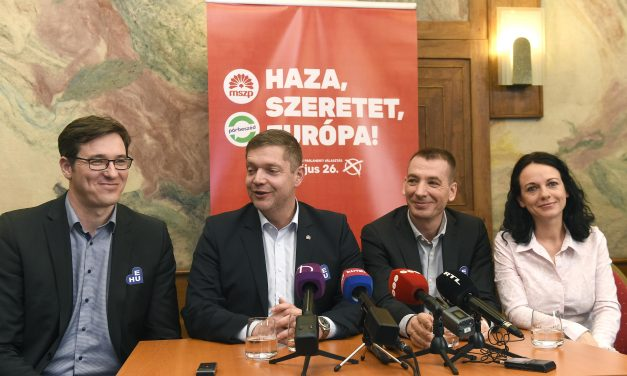 EP elections – Párbeszéd congress approves pact with Socialists