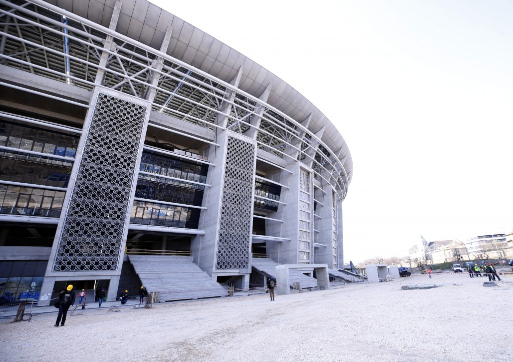 This is how the new Puskás stadium looks like