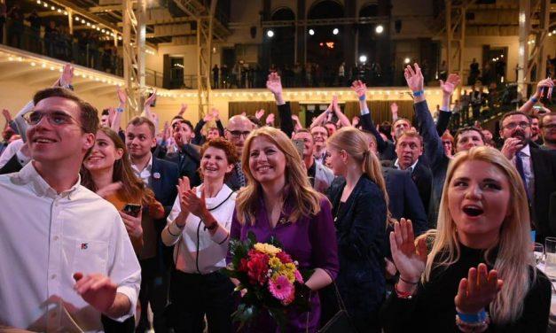 Hungarian president Áder congratulates Slovakia's Caputova