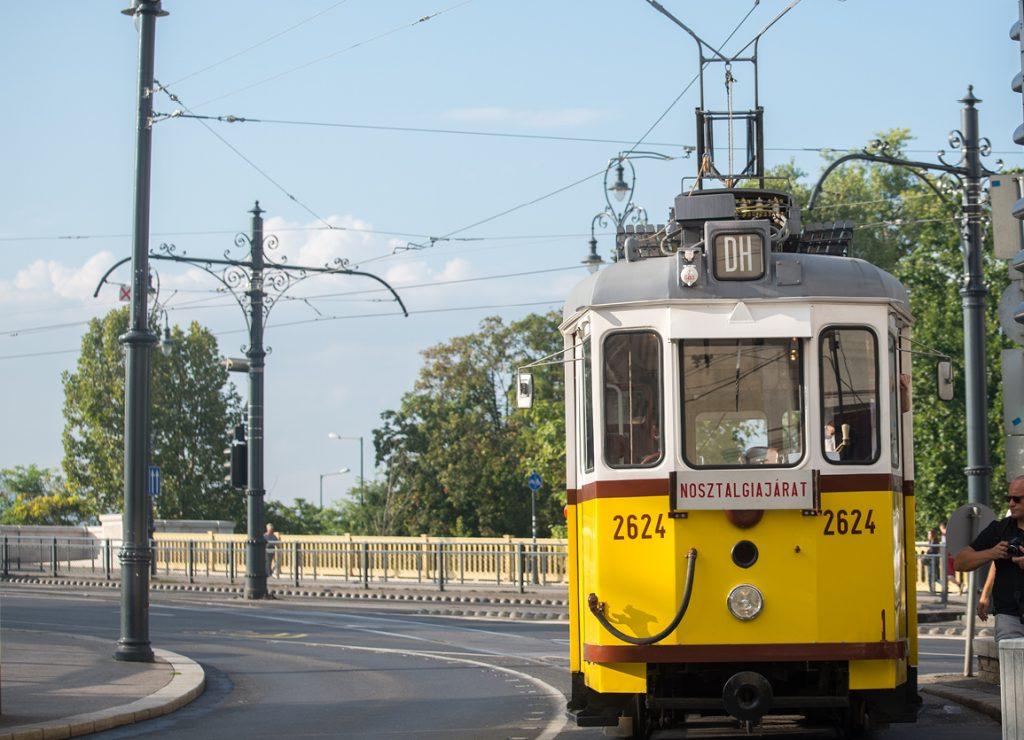 Duna Heritage Tram, Budapest, transport
