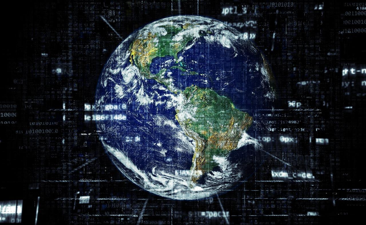 network earth globe