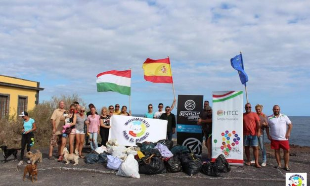 Hungarians clean up the Canary Islands: Video
