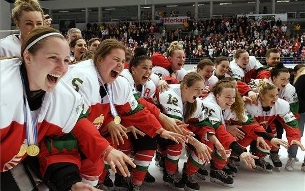 Hungarian national ice hockey team make history