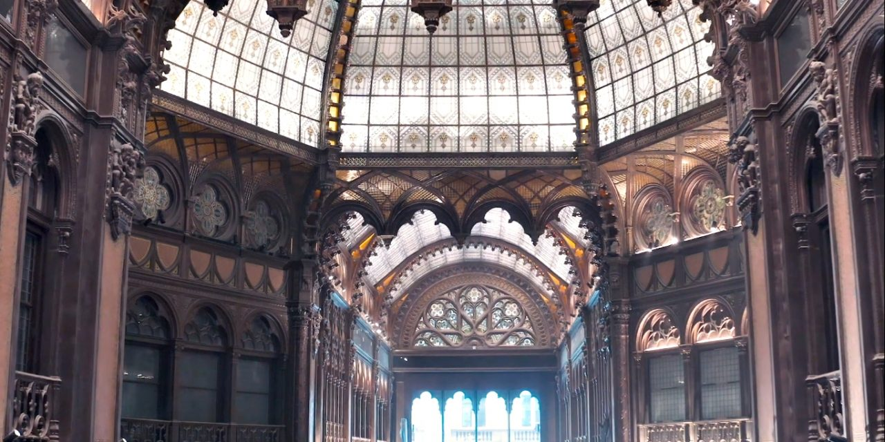 The enchanting Paris Court reopens soon – is this to be the most beautiful hotel in Budapest? – VIDEO