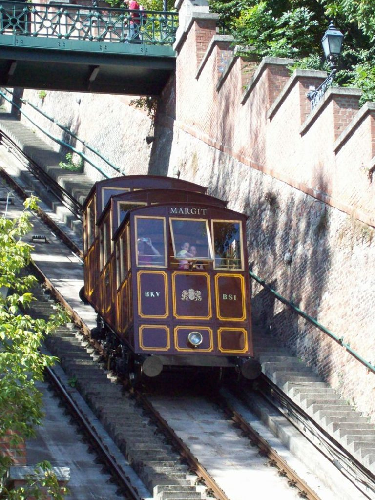 Buda Castle Hill Funicular, Budapest, transportation