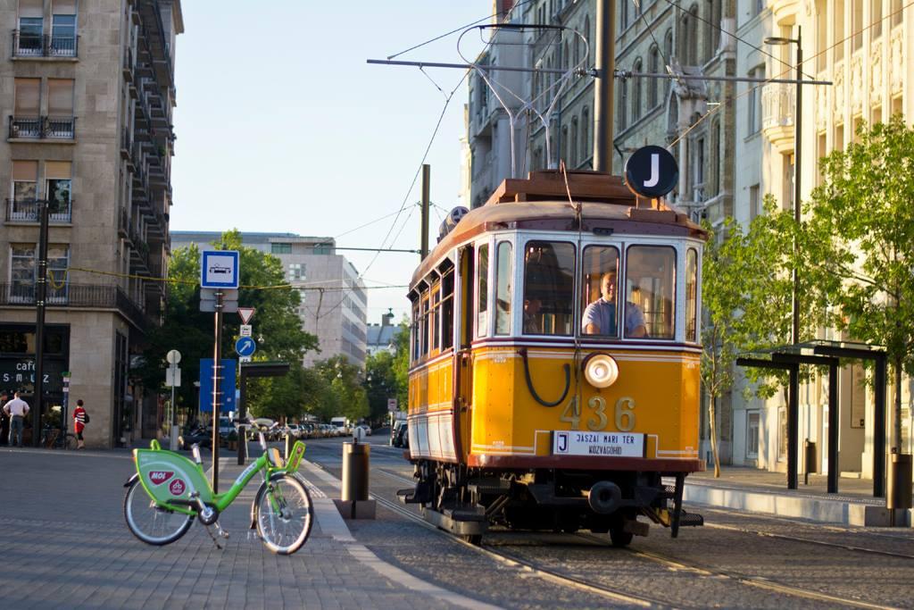 tram, Budapest, transport