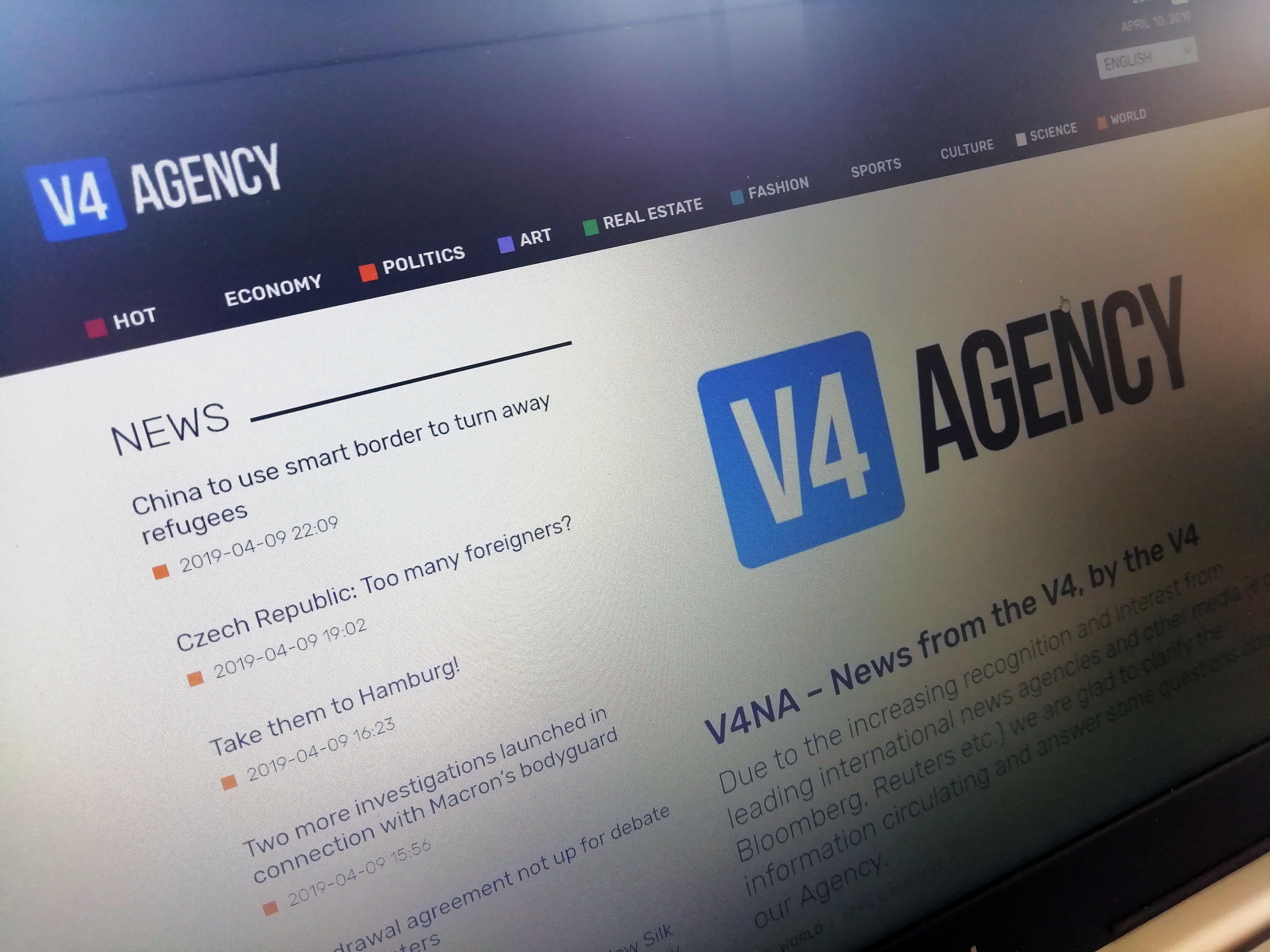 v4 news agency