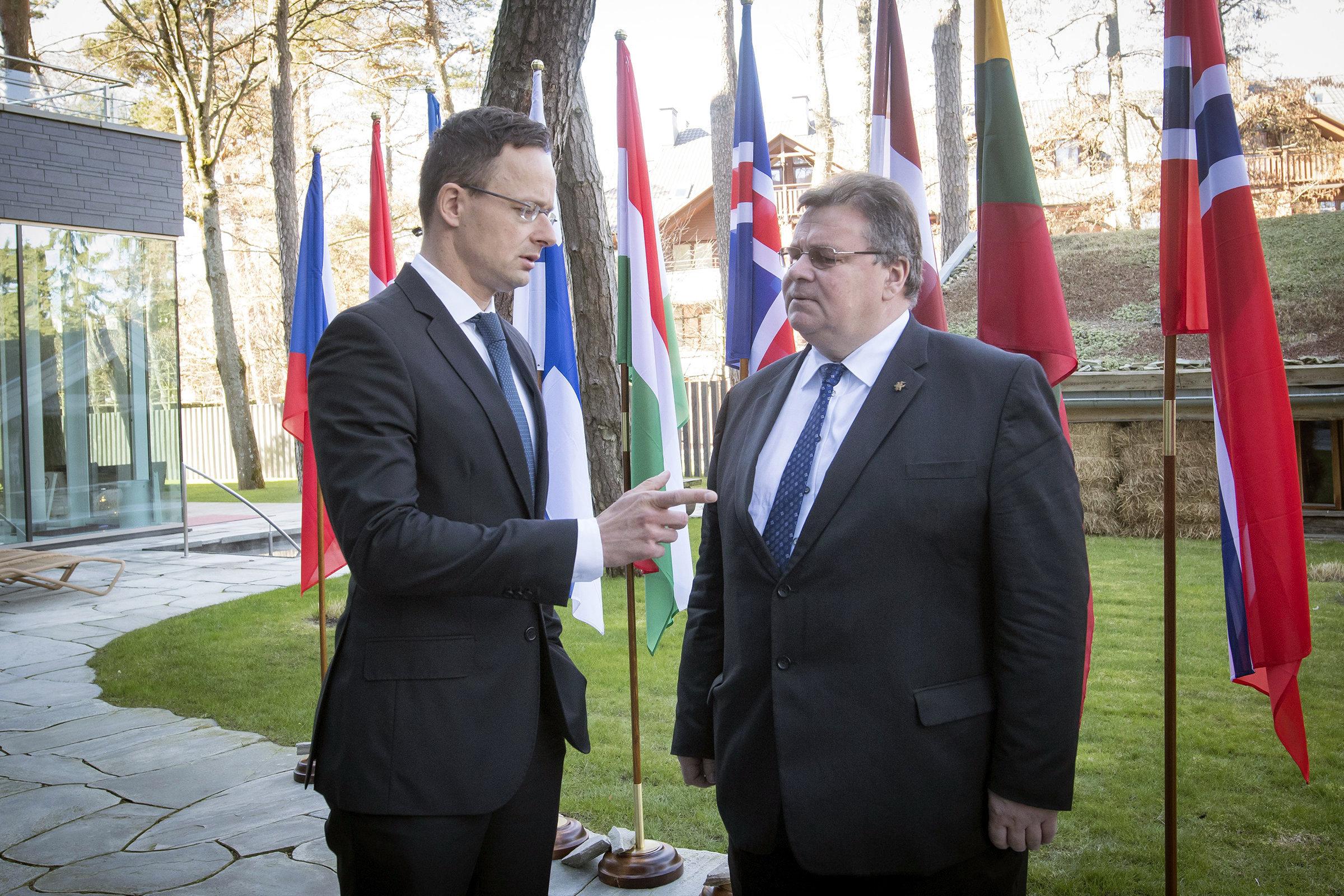 SZIJJÁRTÓ Péter; LINKEVICIUS, Linas Antanas