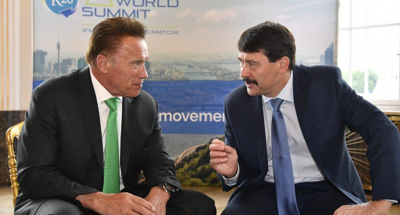 R20 Austrian World Summit - President Áder Hungary's fight against climate change yields results