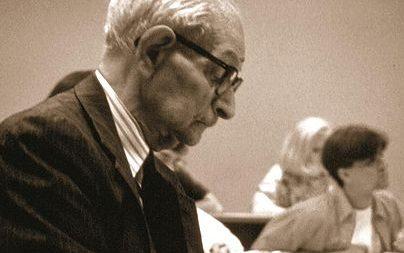 Teszler Sandor at Wofford College
