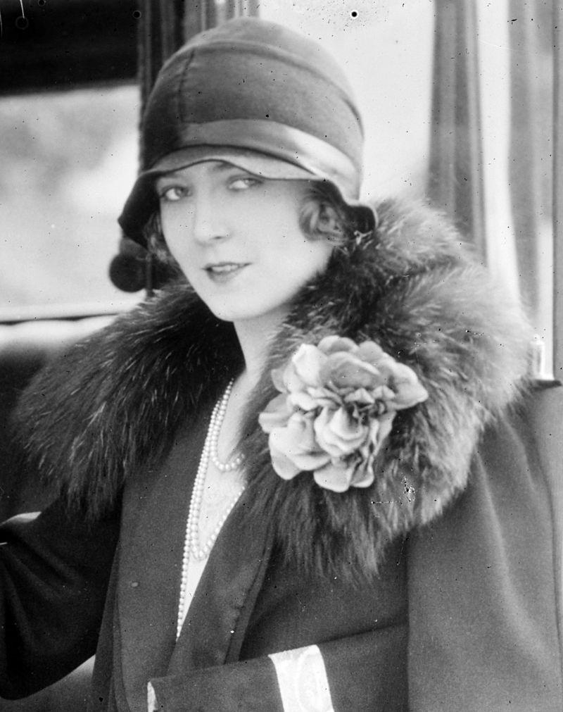 Vilma Bánky, actress, Hungary
