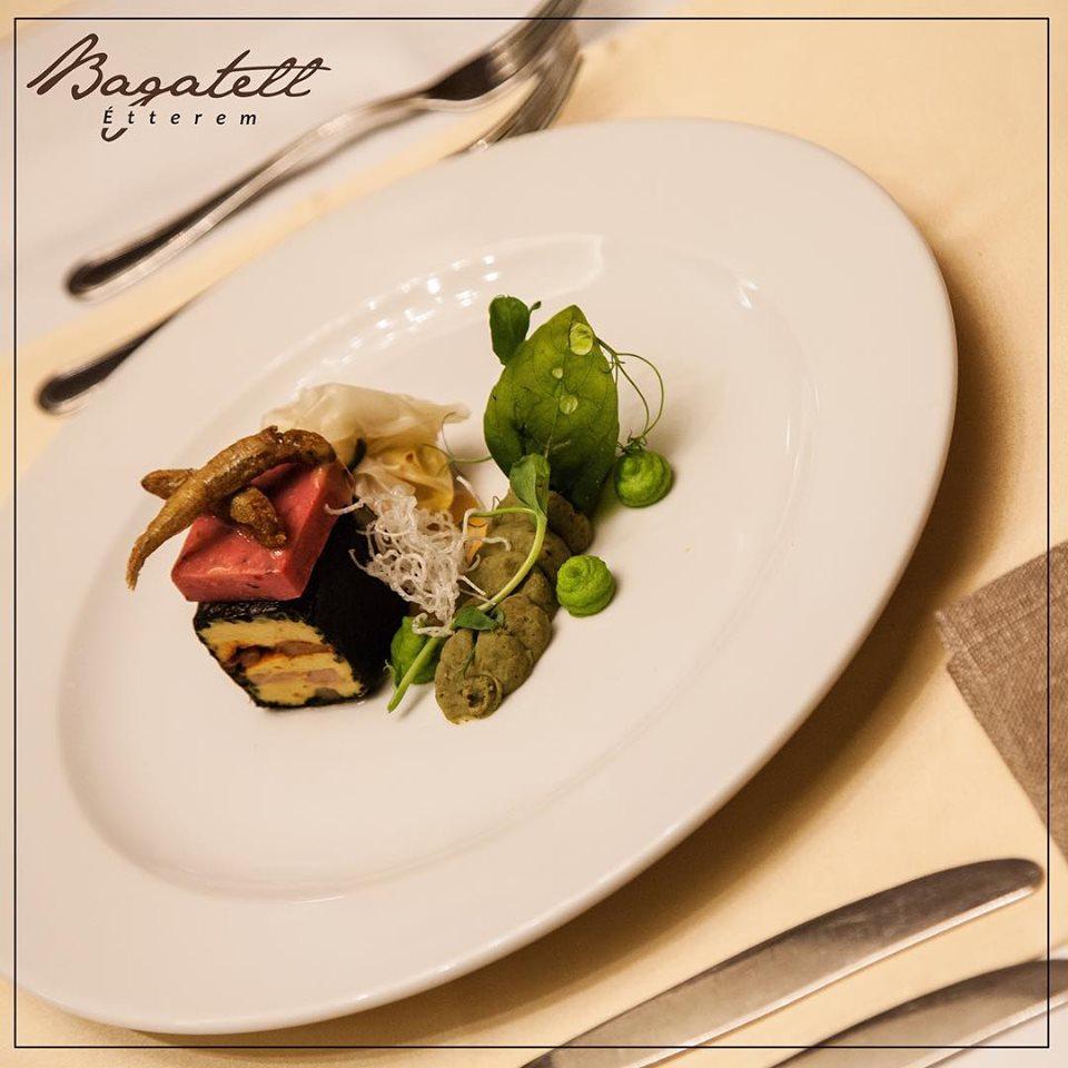 Bagatell Restaurant, food, gastronomy, Hungary