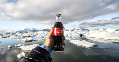 Cola jeges üdítő