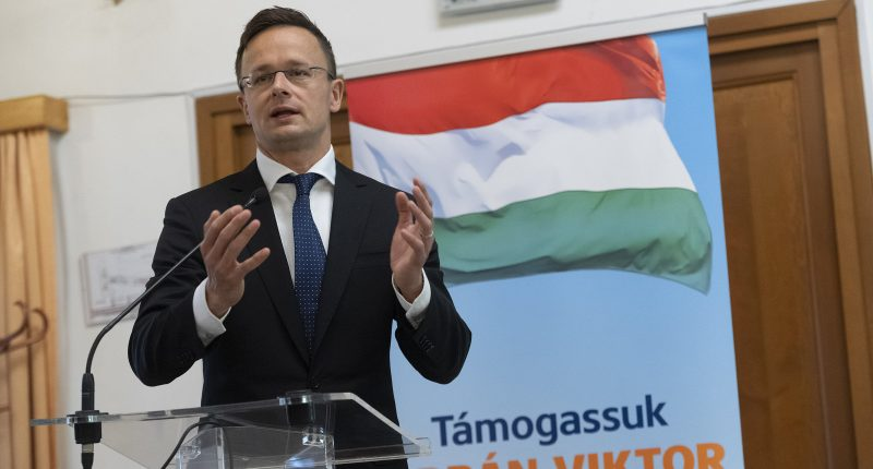szijjártó foreign minister campaign