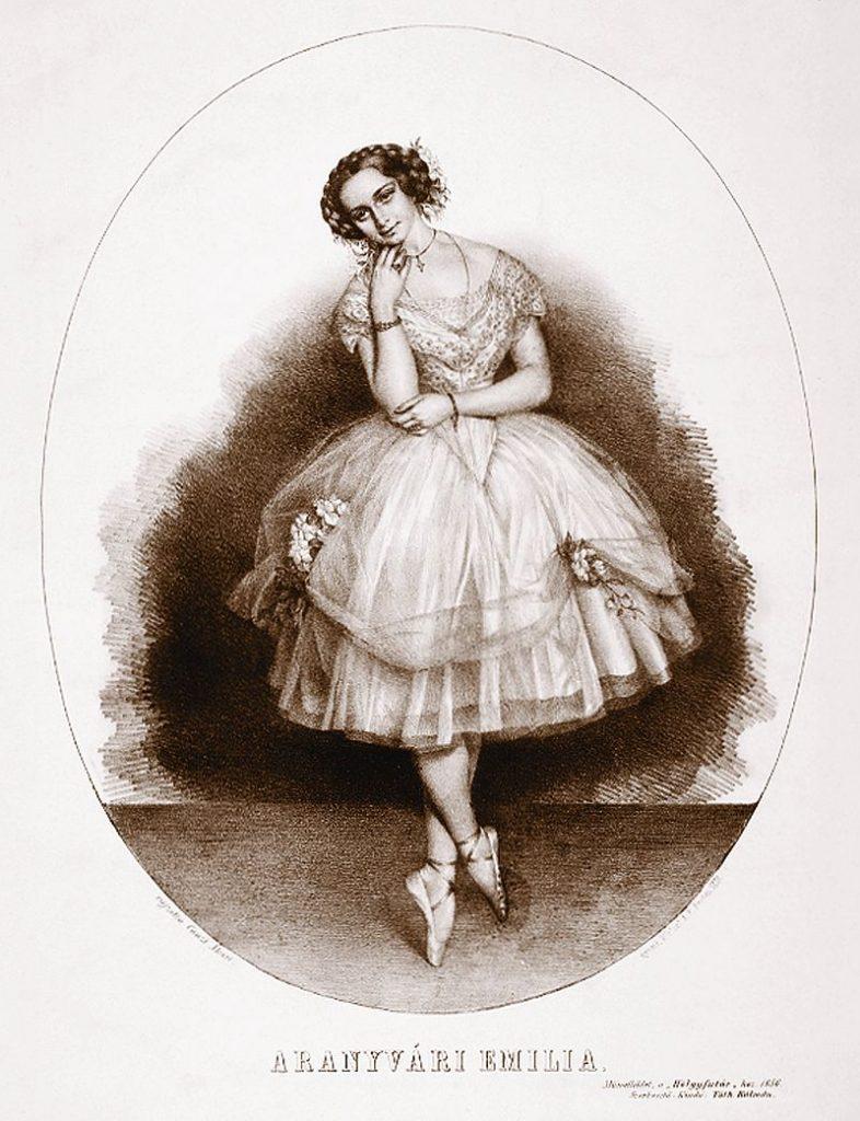 Emília Aranyváry, Hungarian, first, history