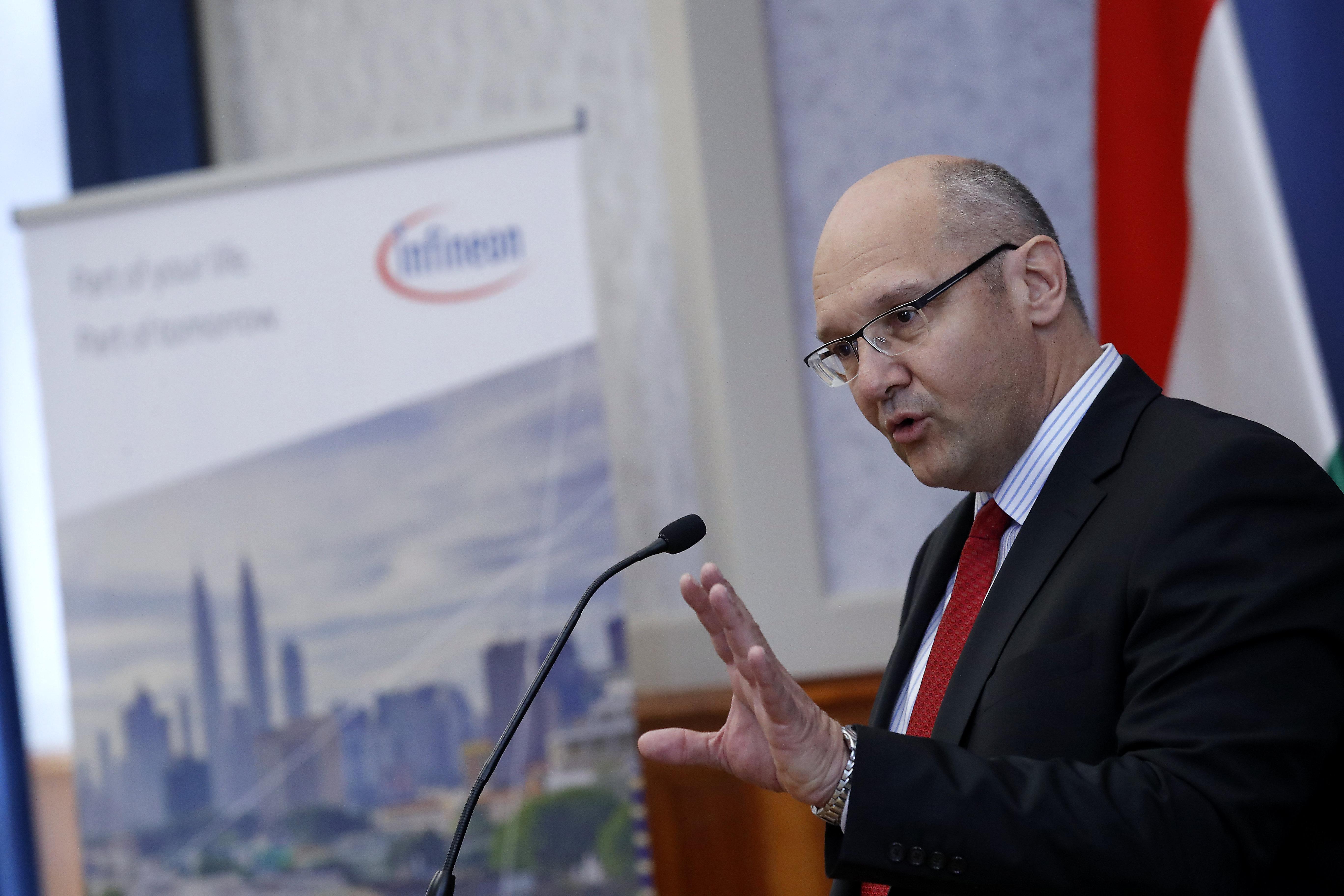 Jörg Spiegel, az Infineon Technologies