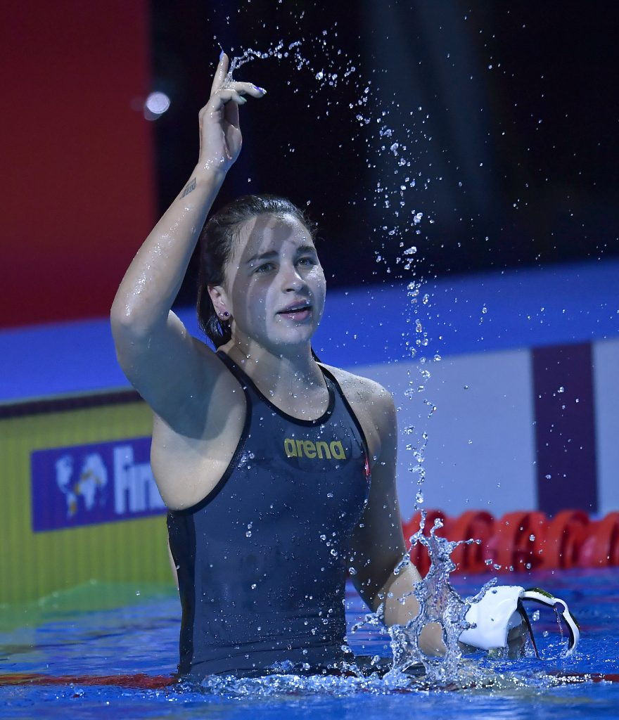 FINA Champion Swim Series késely ajna