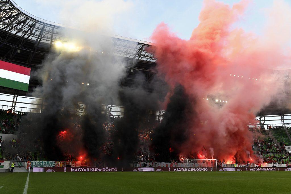 Kispest football fans