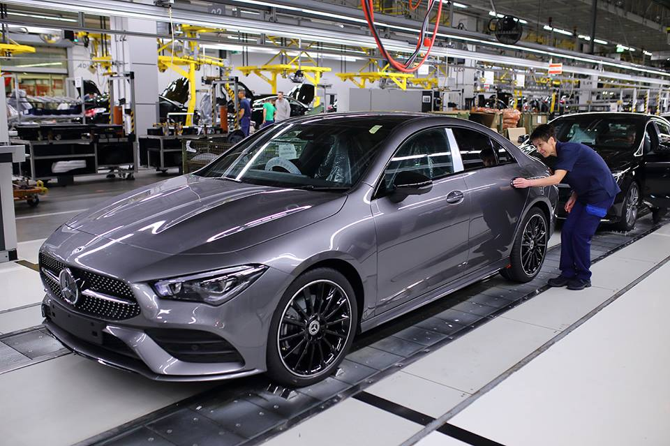 Hungary BMW Mercedes automotive industry