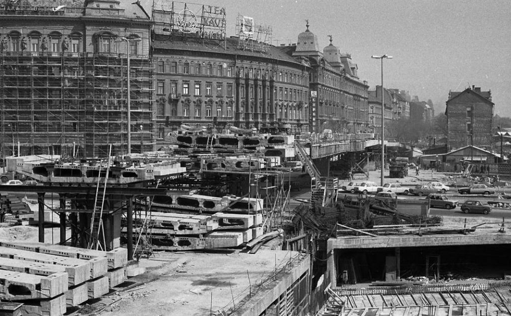 Budapest, Nyugati Square's monumental overpass will be demolished