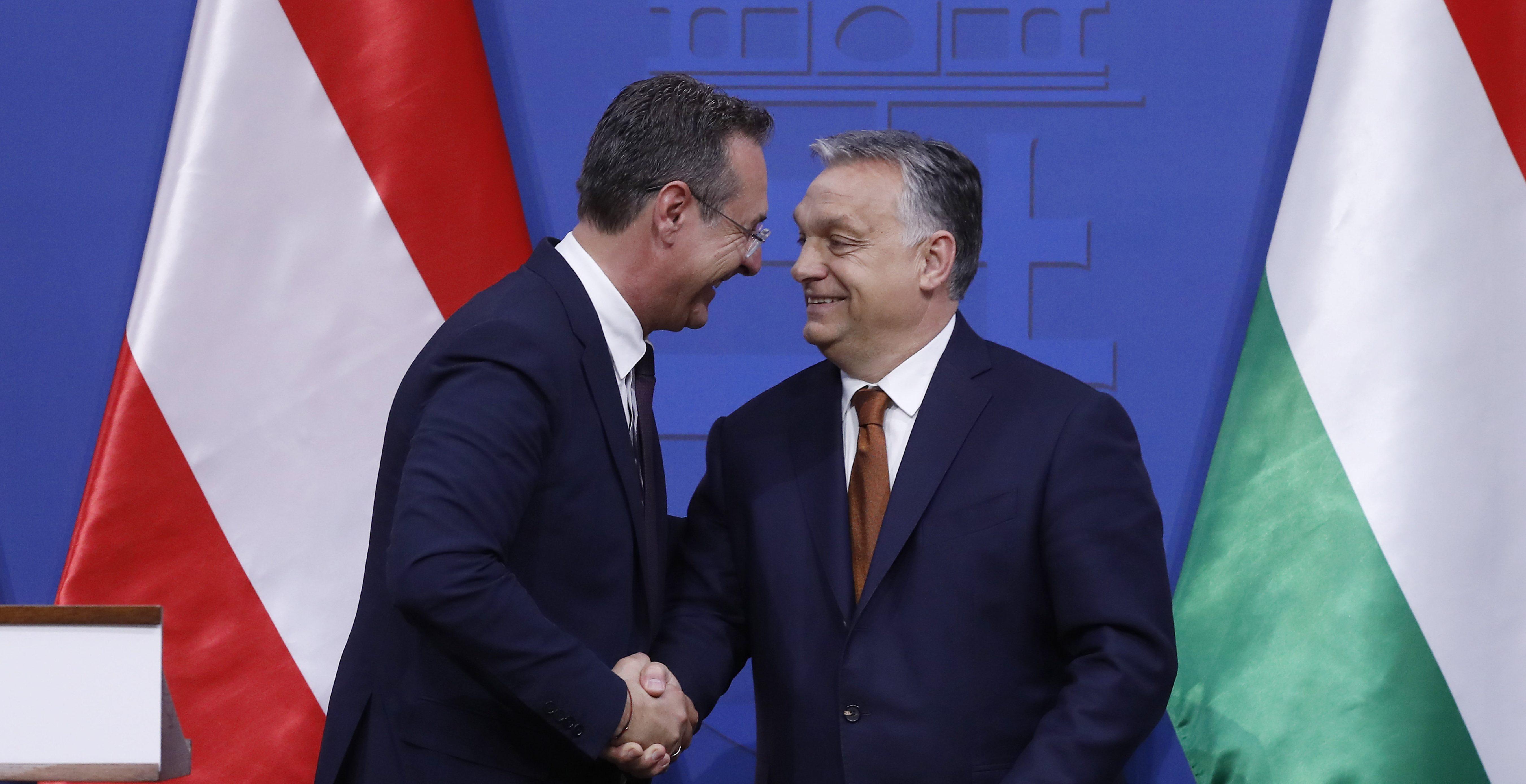 orbán strache