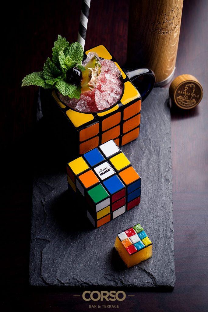 Rubik Cube's koktél - Corso Bar