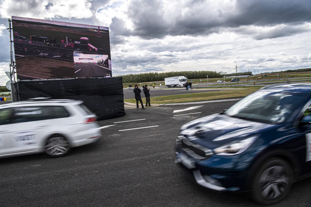 Self-driving vehicle test track opens in Zalaegerszeg, Hungary