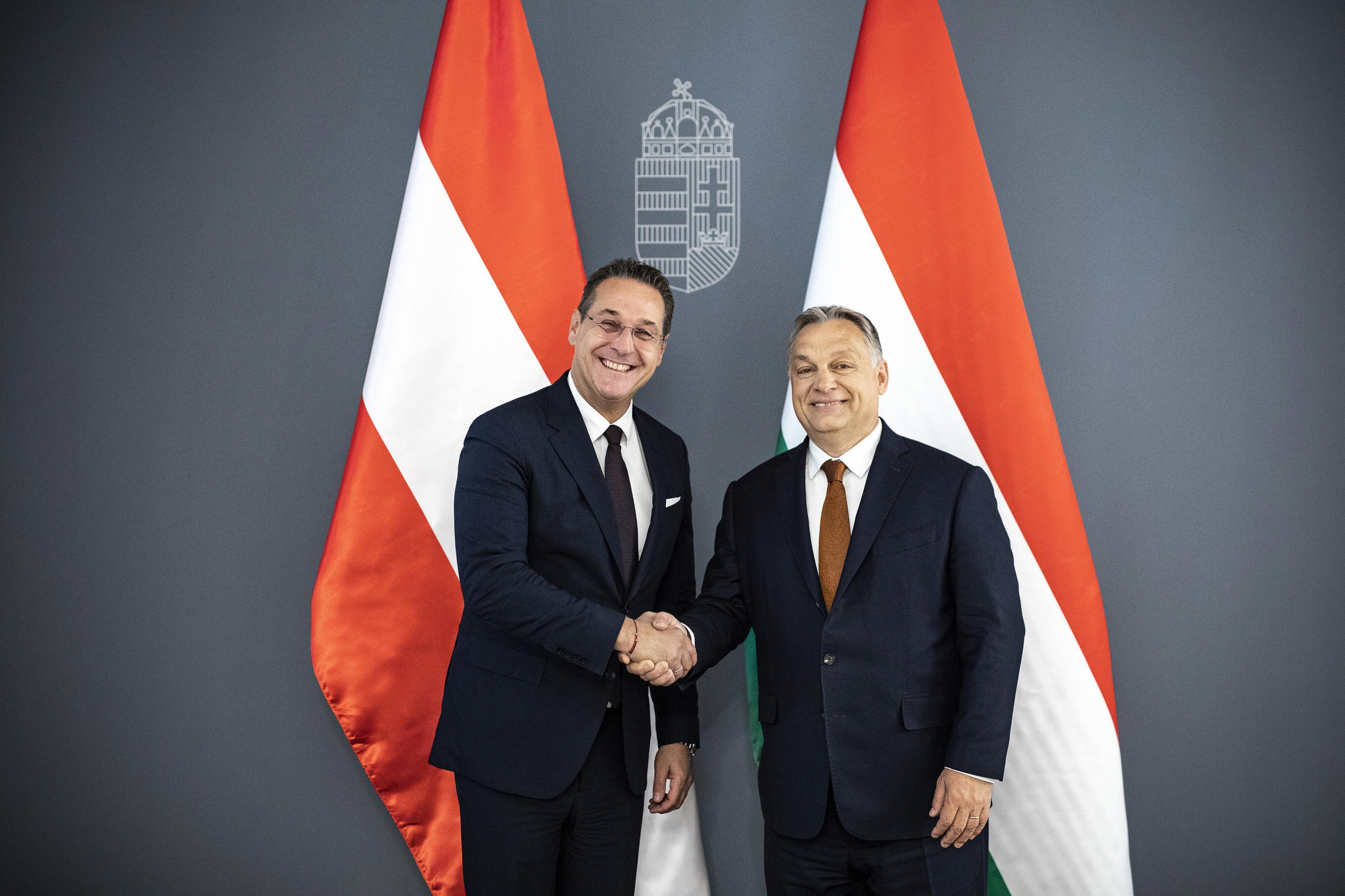 STRACHE, Heinz-Christian; ORBÁN Viktor