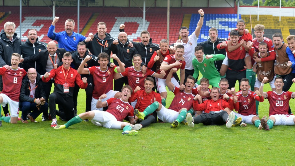 Hungary men's under-17s qualify for World Cup!