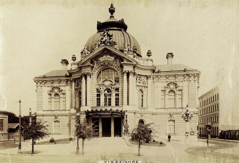 Hungary Budapest theatre