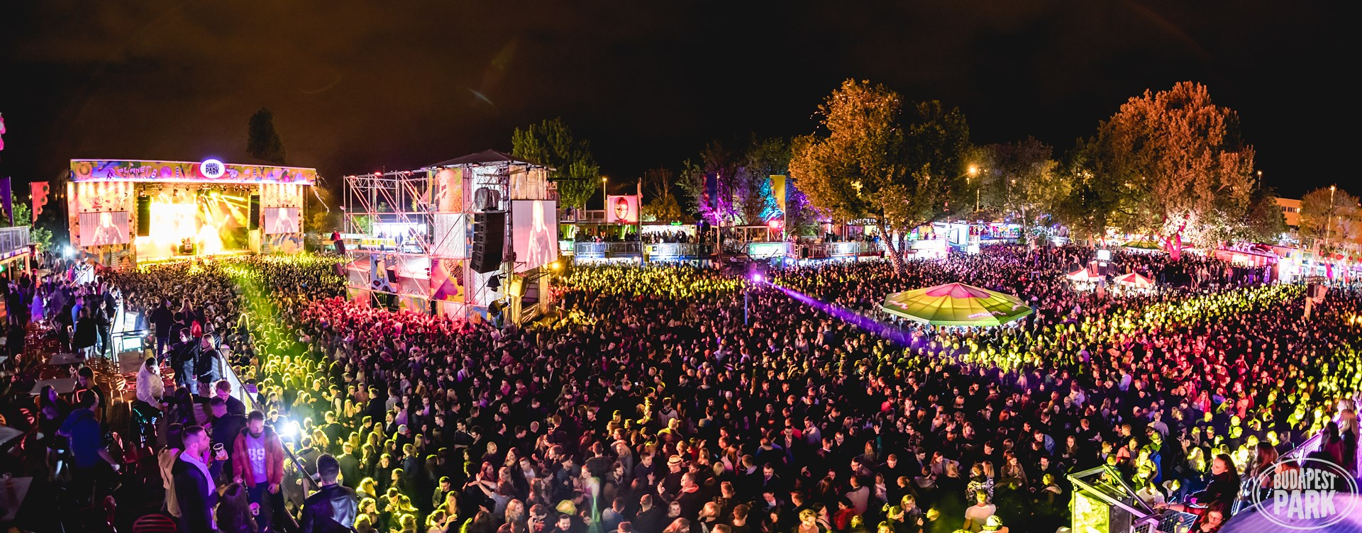 budapest park concerts