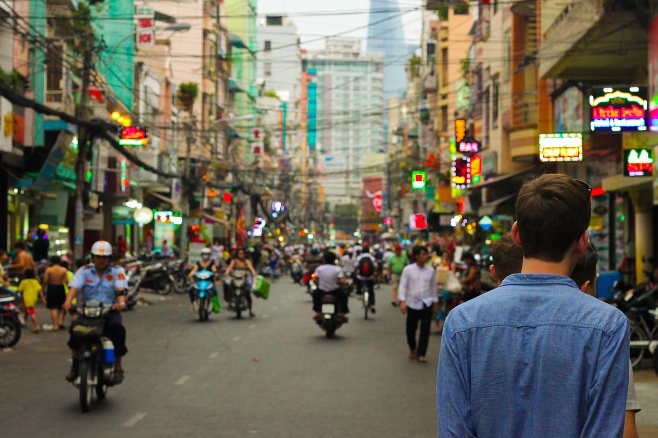 china city street