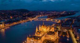 golden budapest parliament