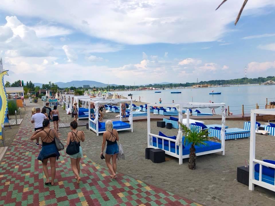 Hungary beach Budapest open summer