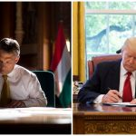orbán and trump at desk