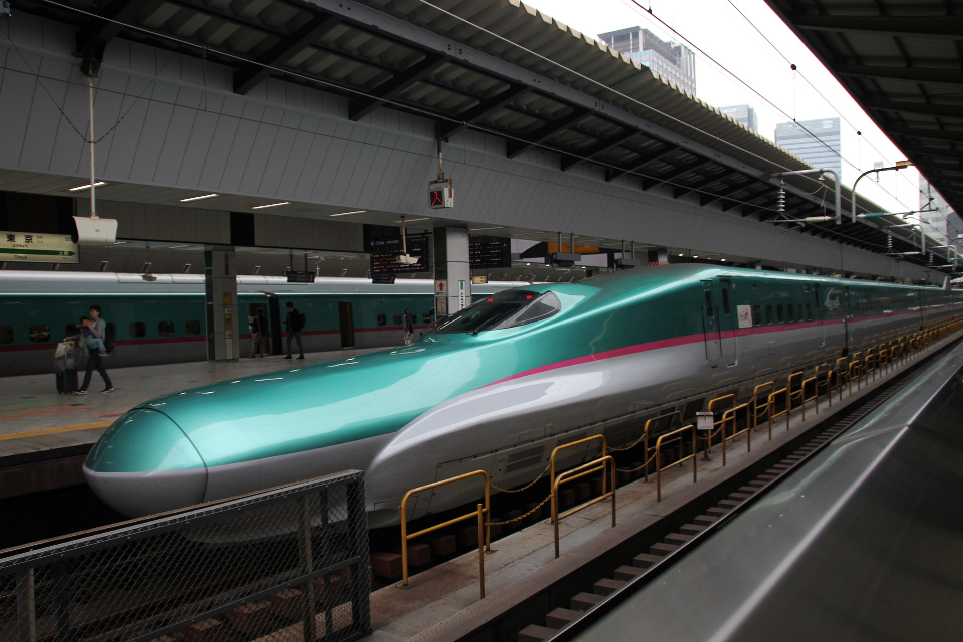 trains high speed