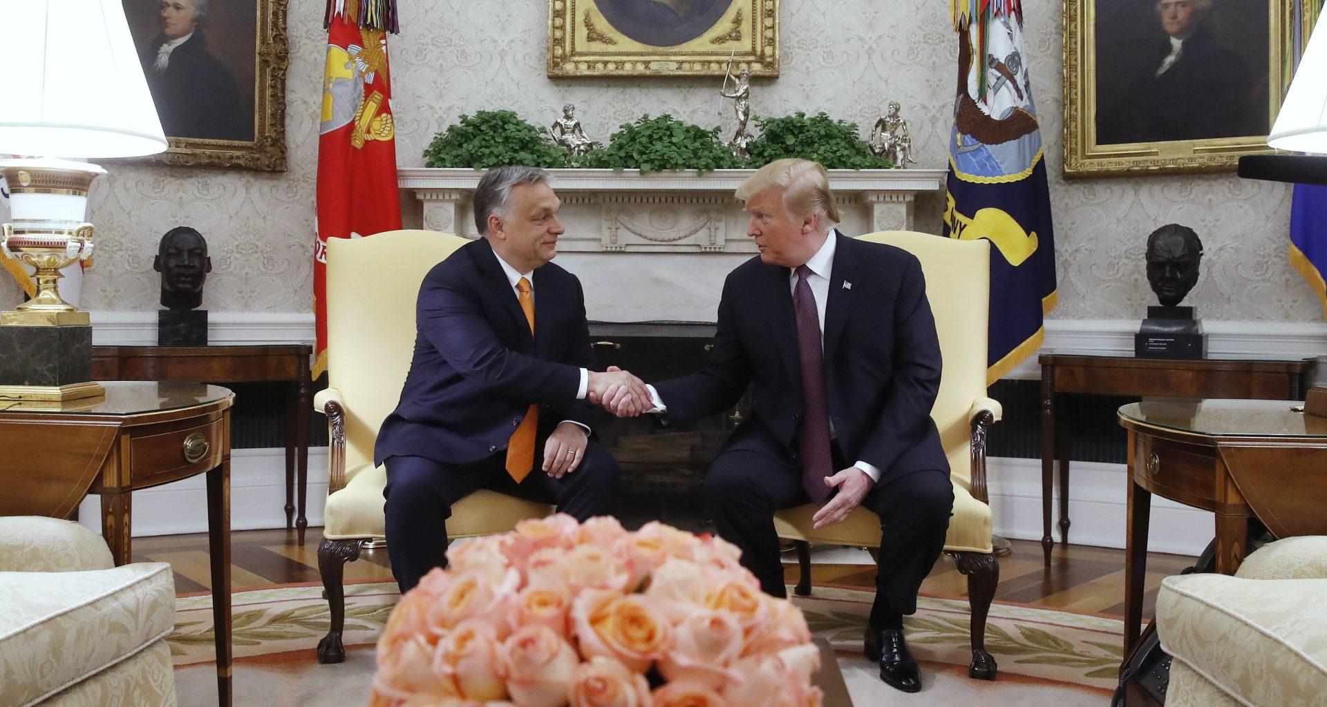trump orbán