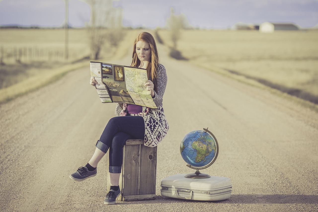 young globe trotter