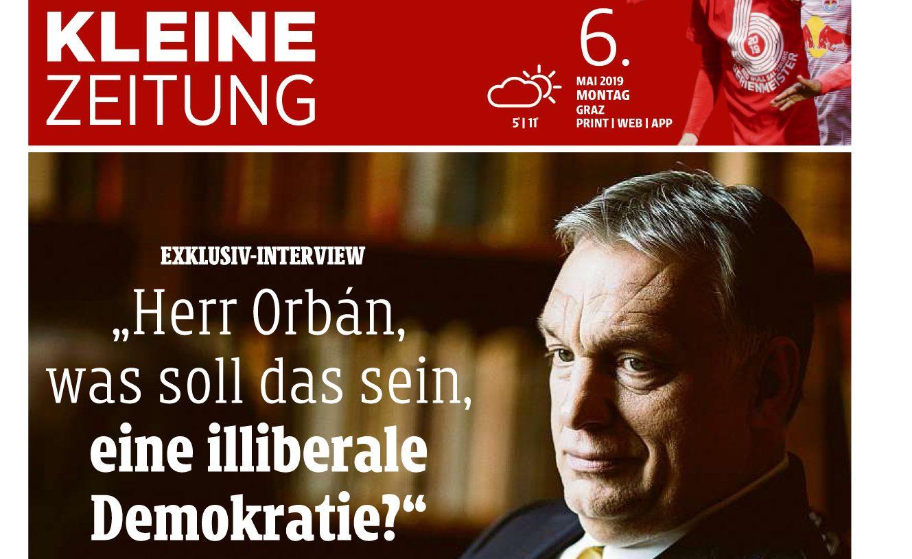 Orbán Kleine Zeitung