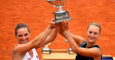 Babos Tímea winning Roland Garros