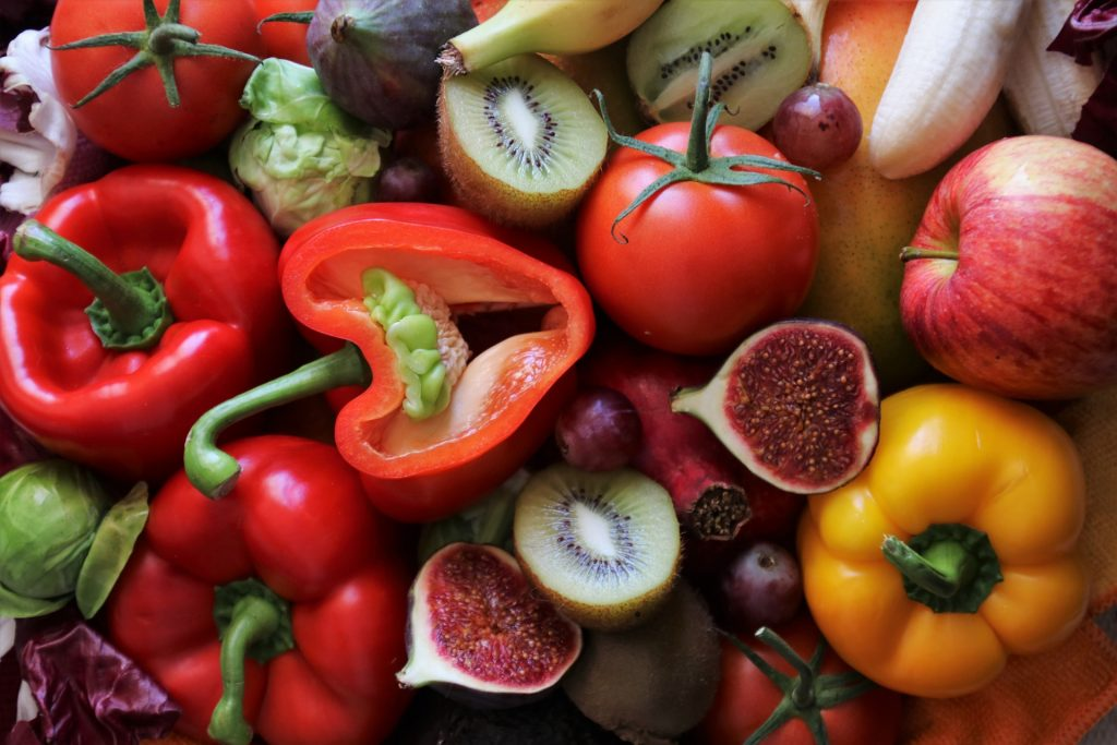C vitamin - fruits and vegetables