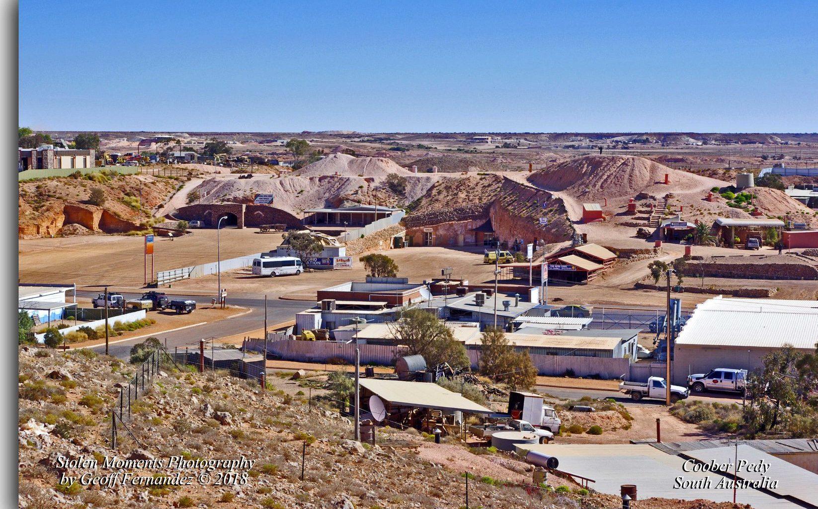 Coober Pedy underground homes - Australian opal
