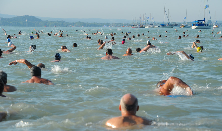 Cross-Balaton swim