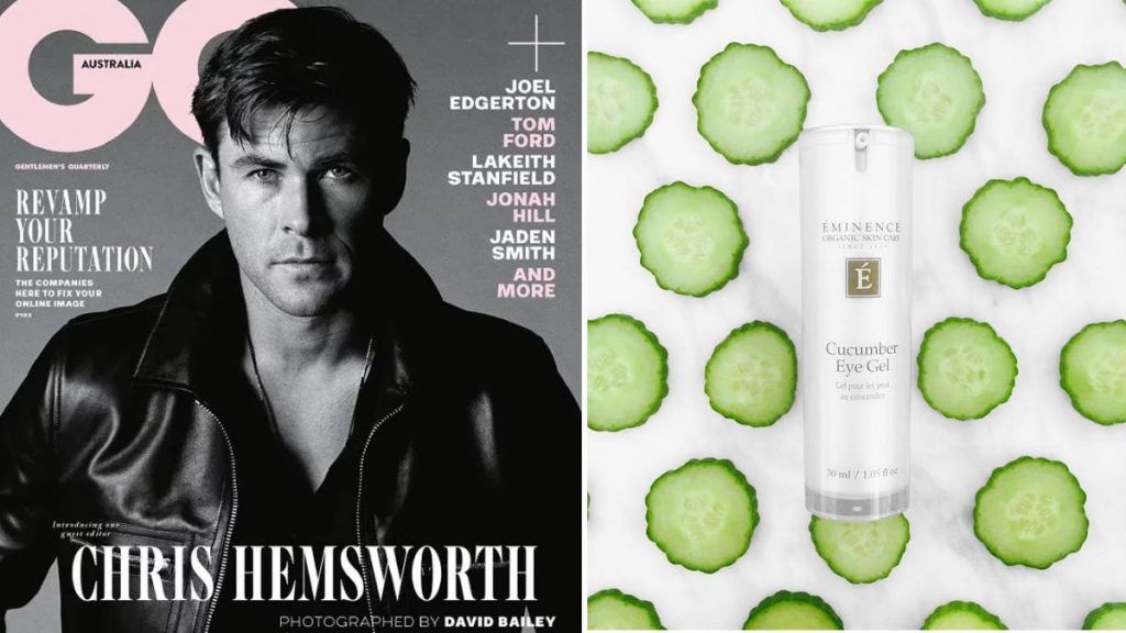 Hungarian cosmetics in Hollywood Chris Hemsworth Éminence