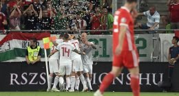 Hungary lies in 42nd position in the latest FIFA list